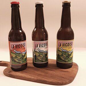 La Vicoise biere trio