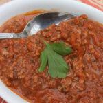 sauce bolognaise boeuf salers auvergne
